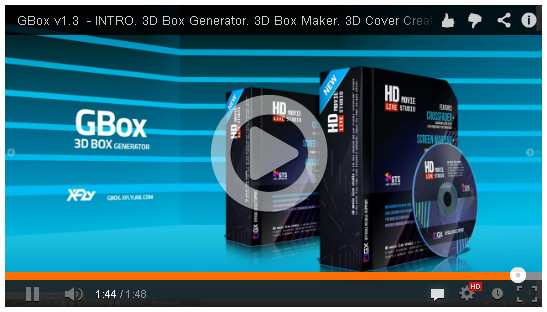 Promo Video 3D Box Generator GBox v1.3